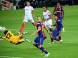 أبرز أرقام مباراة برشلونة وإشبيلية