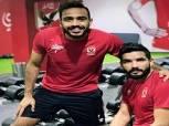 """صالح جمعة وكهربا يواصلان التدريب في """"جيم"""" الأهلي"""