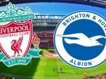 الدوري الإنجليزي| شاهد.. بث مباشر لمباراة «ليفربول وبرايتون» وصلاح أساسيا