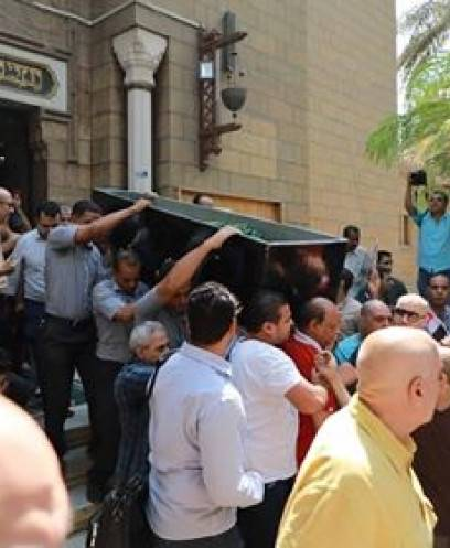 جنازة حارس مرمى الأهلى الراحل عادل هيكل