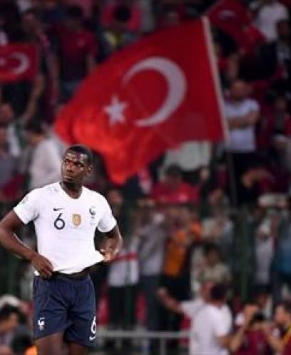 تركيا تفوز على فرنسا في تصفيات اليورو