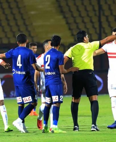 إنبي يفوز على الزمالك 2/1 في الدوري المصري
