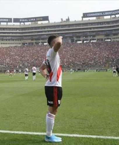 مباراة ريفر بليت وفلامنجو في نهائي كأس ليبرتادوريس