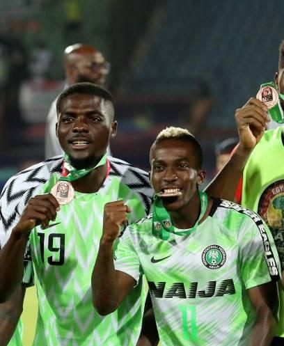 تتويج نيجيريا ببرونزية امم افريقيا 2019