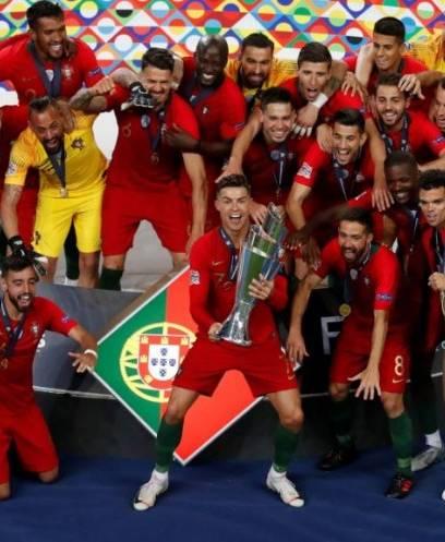 تتويج البرتغال بلقب دوري الأمم الأوروبية