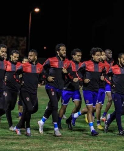 مران الأهلي الثاني في الملعب الفرعي لرادس