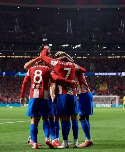 ليفربول وأتلتيكو مدريد  في دوري الأبطال