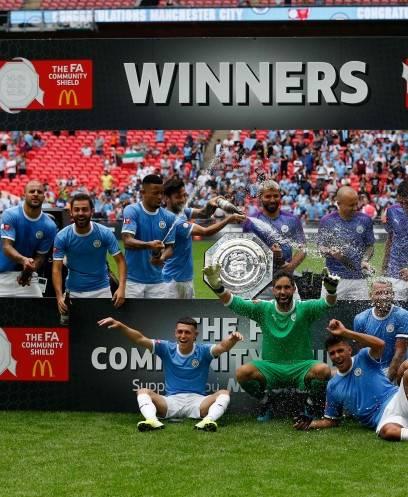 تتويج مانشستر سيتي بلقب كأس الدرع الخيرية على حساب ليفربول