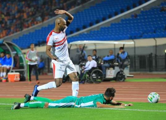مباراة الزمالك ضد الشرقية في كأس مصر