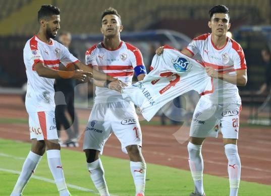 مباراة الزمالك ونادي مصر بالدوري