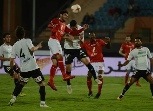 مباراة الأهلي وحرس الحـدود