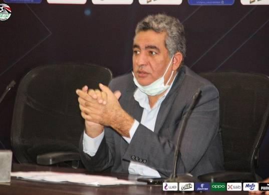 أحمد مجاهد يعلن تأجيل الدوري بعد مباراة الأهلي وأسوان رسميا
