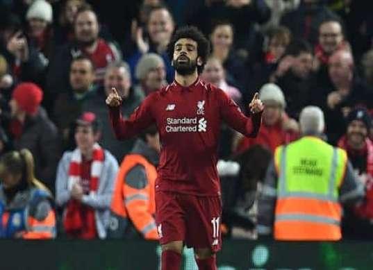 """محمد صلاح بعد الفوز بجائزة بي بي سي: """"أحلم بتحقيق لقب الدوري الإنجليزي مع ليفربول"""""""