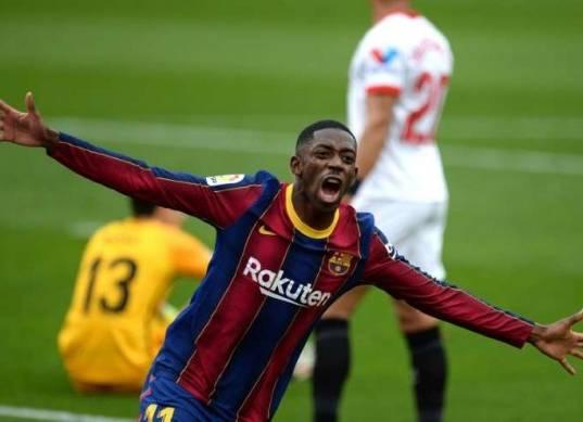 نيوكاسل يغري عثمان ديمبيلي بـ12 مليون إسترليني للرحيل عن برشلونة