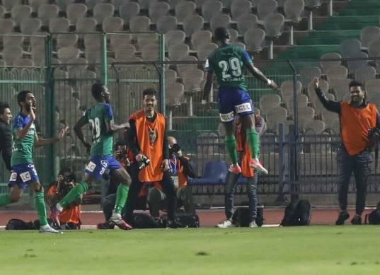 مباراة الزمالك ومصر المقاصة في الدوري المصري