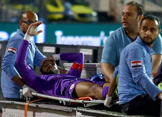 إصابة أحمد الشناوي