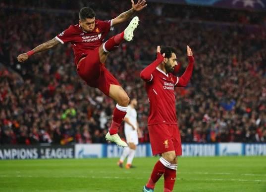شاهد تألق محمد صلاح أمام روما في نصف نهائي دوري الأبطال
