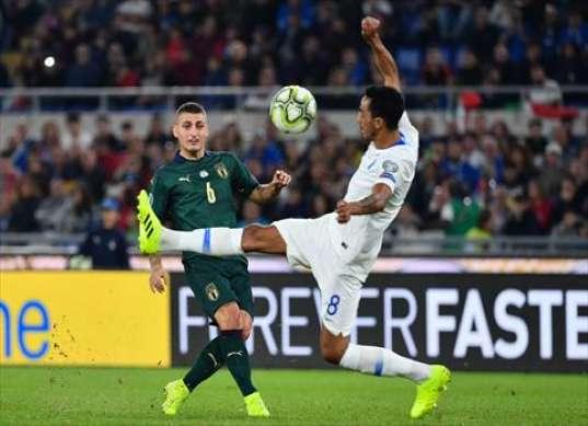 إيطاليا تهزم اليونان وتتأهل ليورو 2020