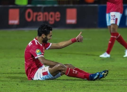 استمرار استبعاد حسين الشحات من مباراة الأهلي أمام الترجي في القاهرة