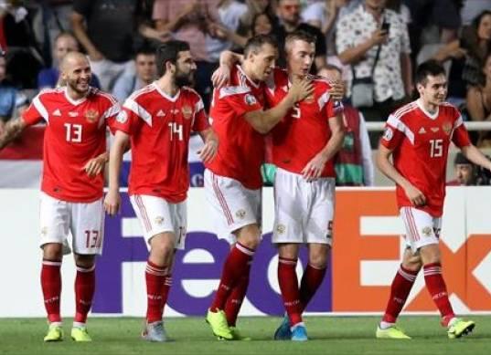 روسيا ثالث المتأهلين ليورو 2020 بخماسية في شباك قبرص