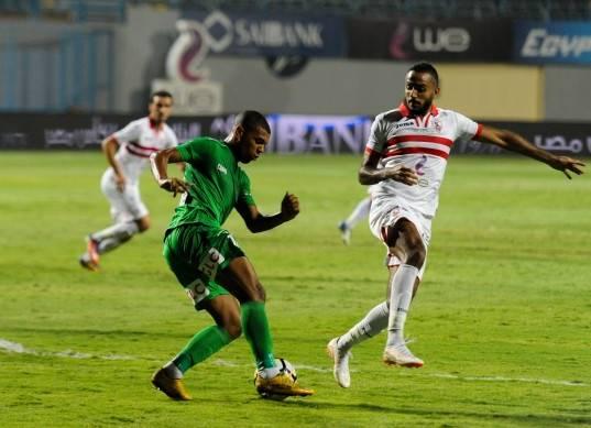مباراة الزمالك ومنية سمنود في بطولة كأس مصر