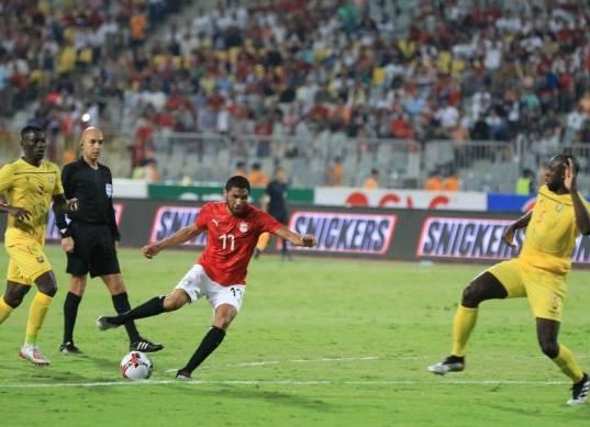 مباراة مصر وغينيا الودية استعدادا لكأس الأمم الأفريقية