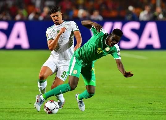 الشوط الأول من مباراة الجزائر والسنغال في نهائي أمم أفريقيا