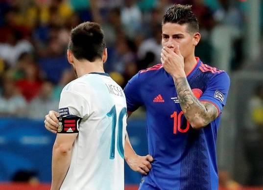 مباراة كولومبيا والأرجنتين في كوبا أمريكا