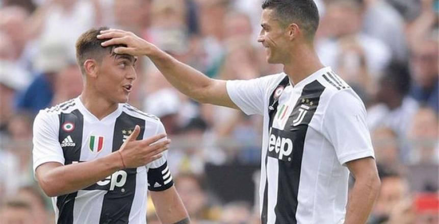 """""""كي تكون بطلا"""".. كريستيانو رونالدو ينصح ديبالا بالرحيل إلى مانشستر يونايتد"""