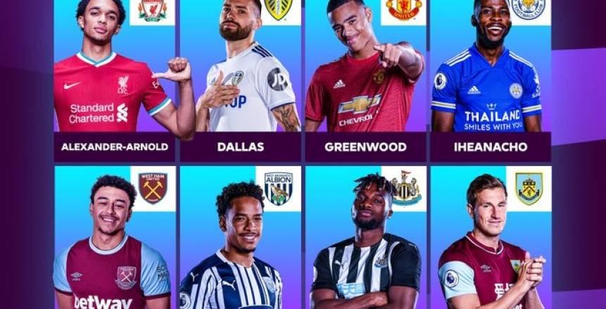 8 مرشحين لجائزة لاعب الشهر.. ومنافسة بين 4 مدربين في الدوري الإنجليزي