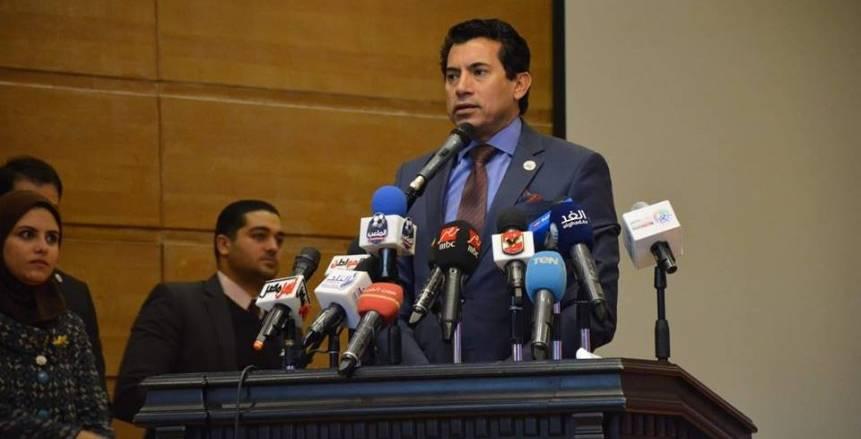 وزير الشباب والرياضة يشارك محافظة جنوب سيناء في احتفالها بعيد تحرير سيناء