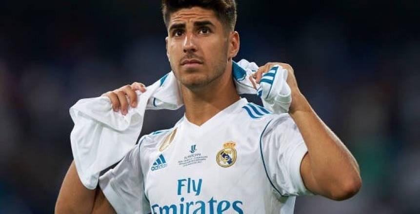 «أسينسيو»: نصائح «زيدان» وراء تألقي.. وأرغب في تغيير رقم قميصي مع «ريال مدريد»