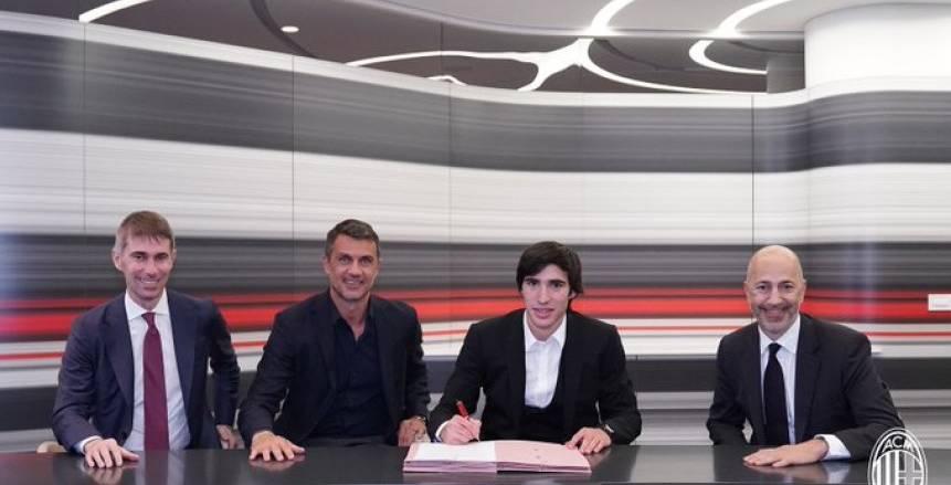 رسميا.. ميلان يحسم تعاقده مع ساندرو تونالي