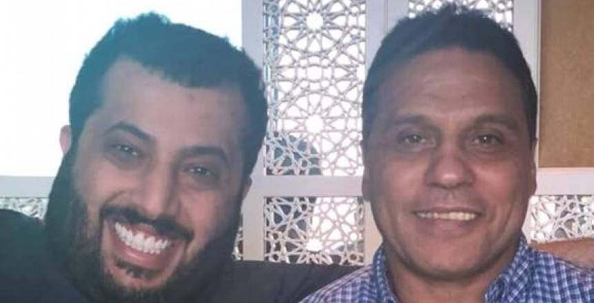 بالصور| تركي آل الشيخ مع «البدري»: «مفاجأة»