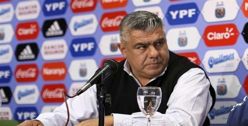 """""""كونيمبول"""" يطيح برئيس الاتحاد الأرجنتيني من منصبه في الفيفا بسبب كوبا أمريكا"""