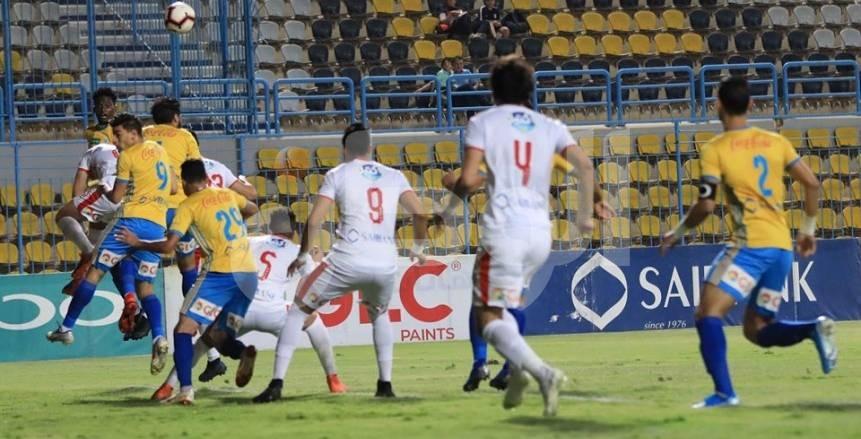 مباراة الزمالك والإسماعيلي في الدوري العام