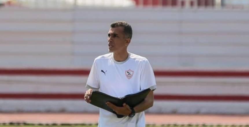 أسامه نبيه يظهر مع لاعبي الزمالك بعد استقالته