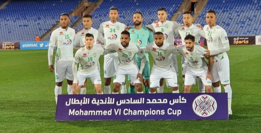 الرجاء يفقد 6 لاعبين أمام بيراميدز.. وقناة مغربية تنقل المباراة