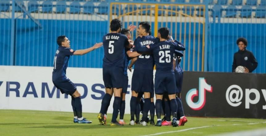 بيراميدز يجدد الثقة في أروابارينا بعد الفوز على المصري