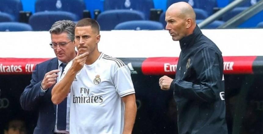 هازارد يرفض المشاركة مع ريال مدريد في الكلاسيكو رغم جاهزيته
