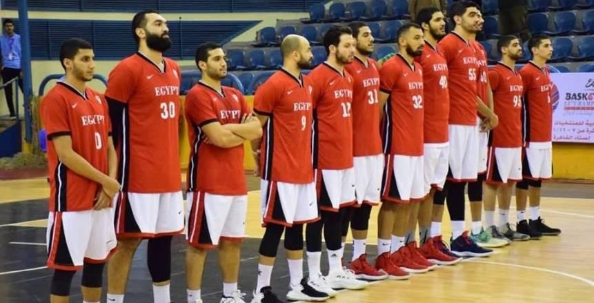 مصر تحرز المركز الثالث بالبطولة العربية للسلة