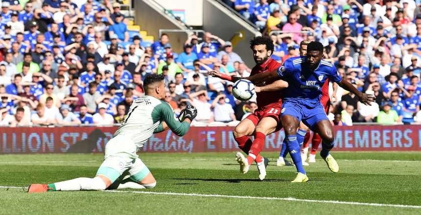 التعادل السلبي يحسم الشوط الأول من مباراة ليفربول وكارديف سيتي