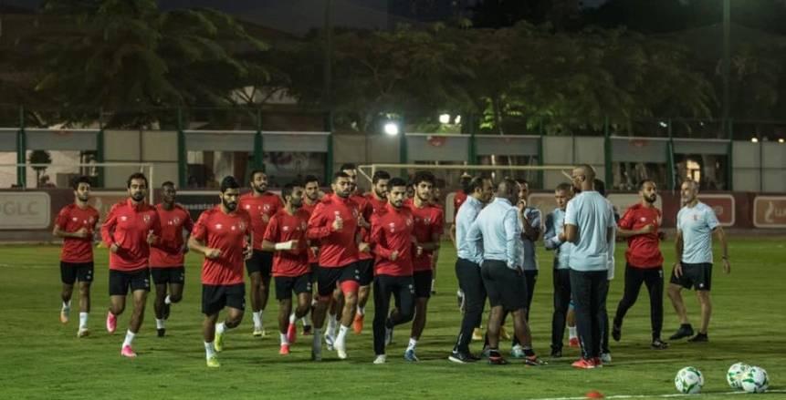 الأهلي يواصل استعداداته لمواجهة الوداد بإياب نصف نهائي دوري الأبطال