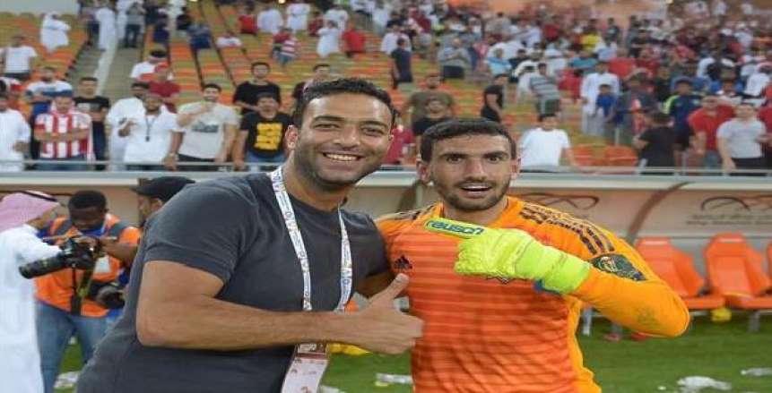 محمد عواد يدعم «ميدو» بعد إقالته من تدريب الوحدة