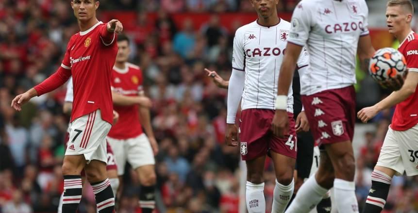 مانشستر يونايتد يرفض هدية «السيتي» ويخسر من أستون فيلا بـ«بريميرليج»