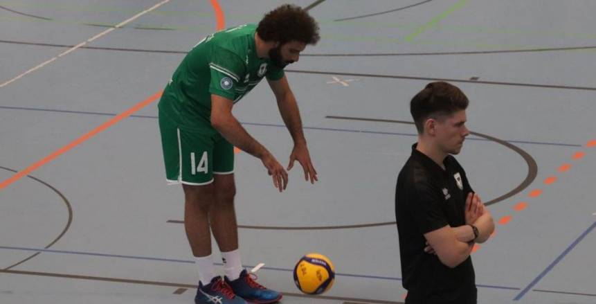 المحترف المصري عمر محمد يتألق في الدوري الألماني لكرة الطائرة