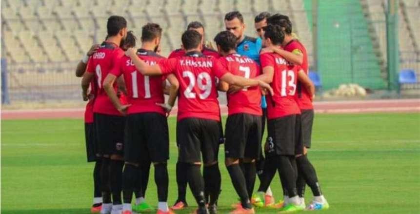 عبد الناصر محمد يعلن تشكيل نادي مصر أمام المقاولون في الدوري