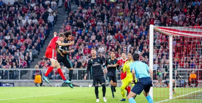 10 أرقام إيجابية لفوز ريال مدريد علي بايرن ميونخ بدوري أبطال أوروبا
