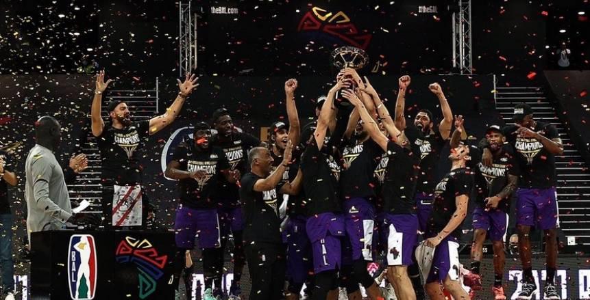 تتويج الزمالك بلقب بطولة دوري أفريقيا لكرة السلة
