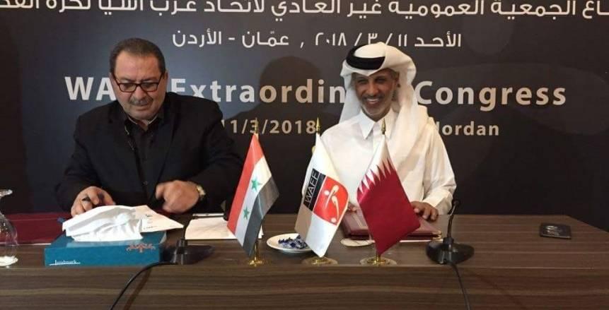 الاتحاد الرياضي السوري يرفض اتفاقية التعاون بين اتحاد كرة القدم وقطر